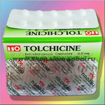 Таблетки для лечения подагры Колхицин