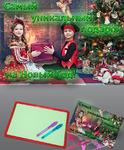 Планшет для рисования светом в Новогодней упаковке.