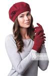 Комплект Моника (берет + перчатки)