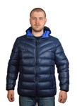 Куртка мужская зимняя Модель ЗМ 10.22 Синий