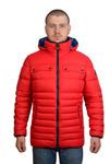 Куртка мужская зимняя Модель ЗМ 10.25 Красный