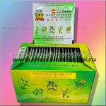 Травяные тайские таблетки (горькие) против простуды, лихорадки и интоксикации 4 штуки