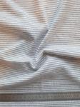 Трикотаж Серая полоска 2,5мм (30х40см)
