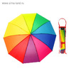 Зонт механический, R=50см, разноцветный