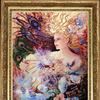 Набор для вышивания BUTTERFLY арт. 451 Магический кристалл 33х26 см