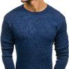 Свитер мужской классический темно-синий Denley H1708