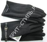 1722 Перчатки женские в ассортименте черные
