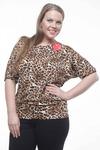 Блуза Леопард