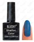 Гель-лак Bluesky 176 SU 10 мл. Цвет Синий  код 3241