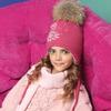 Шапка зимняя для девочки ПриКиндер