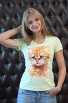 """Футболка жен FS 2182 """"Kitty"""""""