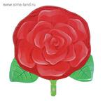 """Шар фольгированный """"Роза"""", 18"""", цвет красный"""