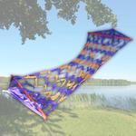 Гамак плетеный, лента, ШД80*210см., в чехле, CBD