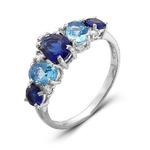 Серебряное кольцо 073