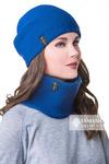 Комплект «Лана» (шапка + воротник)