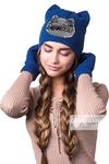 Комплект «SWEET» (шапка + перчатки)