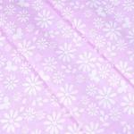 Ткань на отрез бязь плательная 150 см 1553/3 цвет розовый