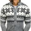 Свитер мужской джемпер свитер антрацит Denley 585