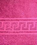 Полотенце махровое Акрополь Малина