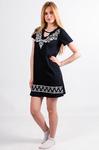 Платье-туника с коротким рукавом