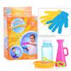 1Toy Прыгунцы, эластичные мыльные пузыри, 2 перчатки, ёмкость для раств., рожок, палочка для м.пузыр