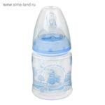 Бутылочка для кормления First Choice Plus Baby Blue, размер М, 150 мл, от 0 мес.