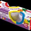 Пластишка Тесто для лепки Набор №18, 3цв. по 80 гр