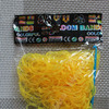 Резинки для плетения браслетов прозрачные, желтый Артикул: 960-167