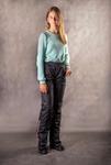 Подростковые утепленные брюки для девочки Арт.777,