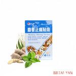 Пластырь JS Shexiang Zhitong Tie Gao (тигровый с мускусом), 4шт
