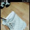 Ботинки осенние, белые