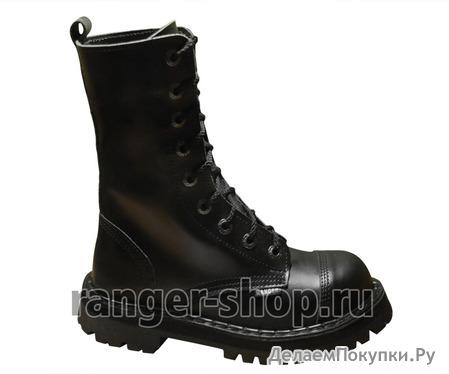 """Ботинки высокие Ranger """"Black"""" 9 колец, унисекс, размер 34-48"""