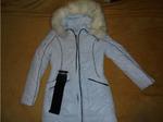Куртка женская осень-зима  цвет белый. размер 42
