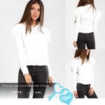 Модная декорированная блуза