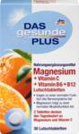 Das gesunde Plus Magnesium + Vitamin C + Vitamin B6 + B12 Магний + Витамин C Леденцы, 30 шт