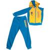 Спортивный костюм для мальчика ( бирюзовый с желтым ) 8850