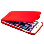 Чехол Fashion Case для iPhone 6s/ 6 (4.7) кожаный с откидным верхом красный