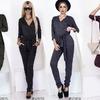 Изысканный комбинезон станет отличной альтернативной брюкам и блузкам