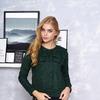 """Блуза """"Бант"""" (зелёный)"""