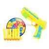 Пистолет 012XH с мишенью и мягкими пульками, в пакете
