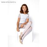 Колготки детские нарядные JASMINE 20 ден цвет белый (bianco)