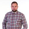 Рубашка шотландка рост дл.рукав