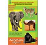 Дидакт.пособие. Животные Африки (арт. ПД-1764) А4