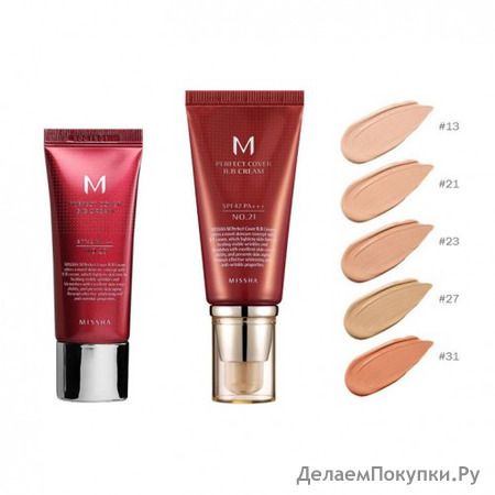 ВВ крем MISSHA M Perfect Cover BB Cream, 20 мл