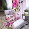Плед флисовый Китайские розы