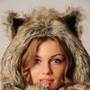 """Шапка """"Снежный волк""""  мод.А"""