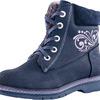 652094-51 синий ботинки школьные нат. кожа 32-37,5
