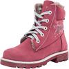 65204952 ботинки школьные нат. кожа бордовый 32-37,5