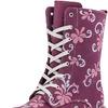 652077-52 бордовый ботинки школьные нат. кожа 32-37,5