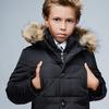 Детская зимняя куртка DT-8259-8, (Черный)